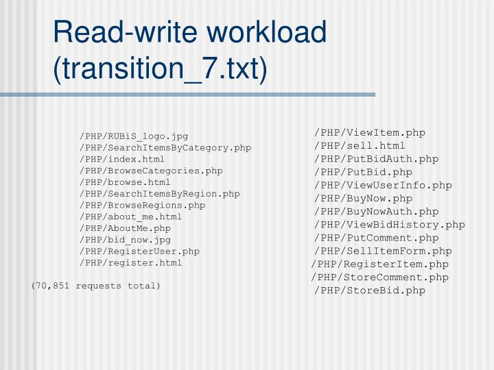 Read-write workload (transition_7.txt)