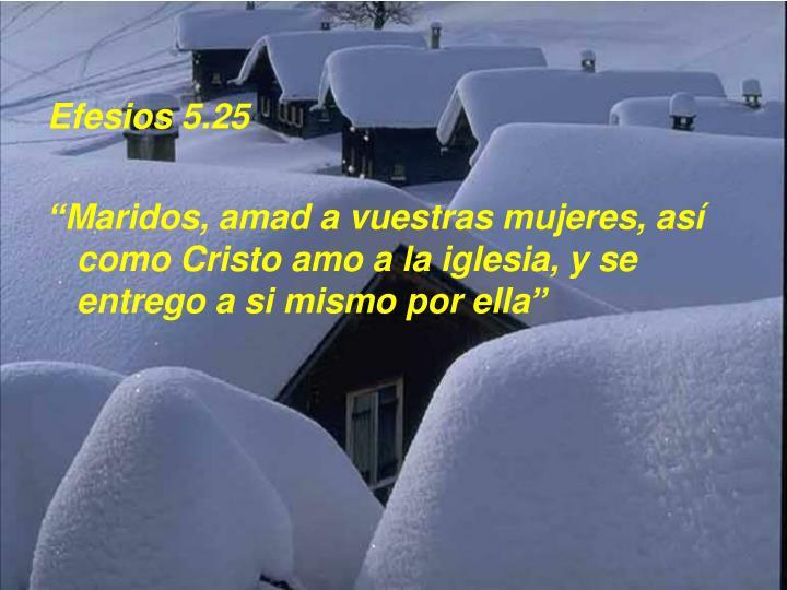 Efesios 5.25