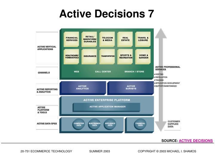 Active Decisions 7