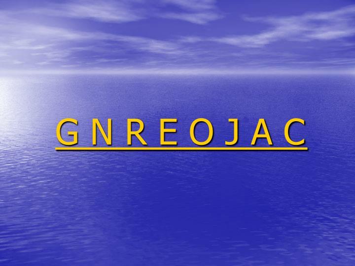 G N R E O J A C
