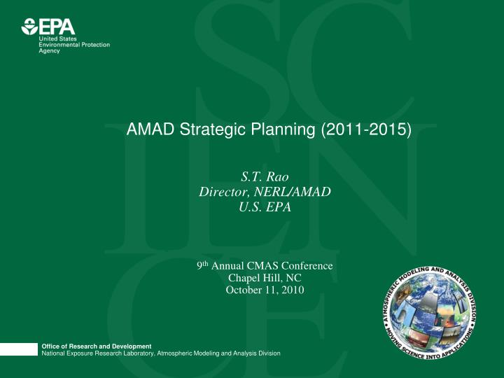 Amad strategic planning 2011 2015