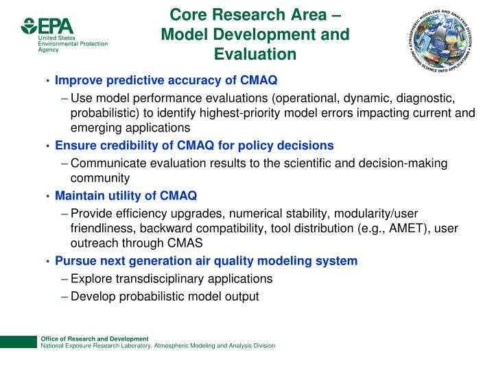 Core Research Area –