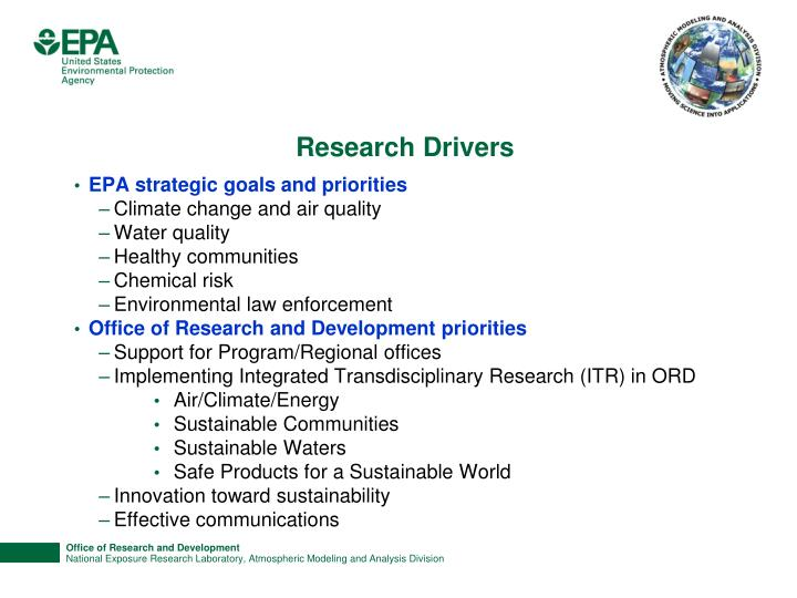 Research Drivers