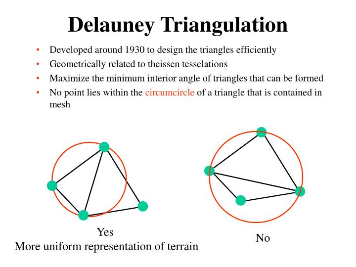 Delauney Triangulation