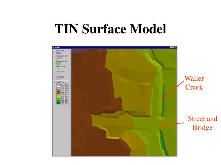TIN Surface Model