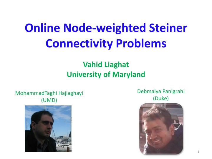 Online node weighted steiner connectivity problems