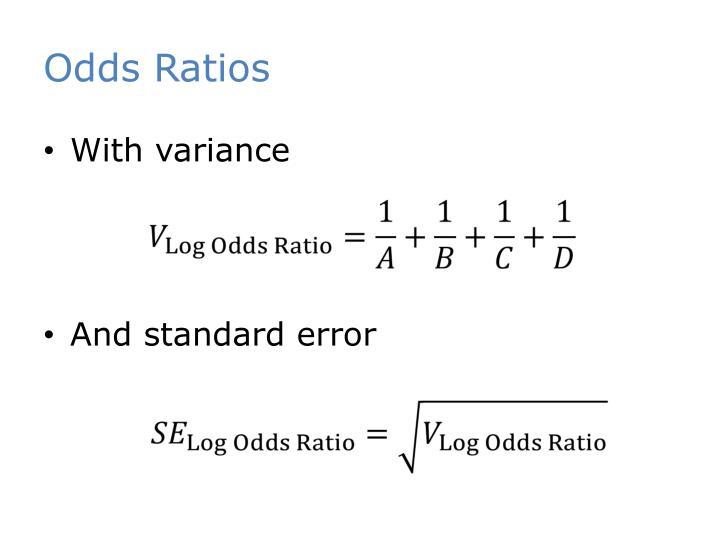 Odds Ratios