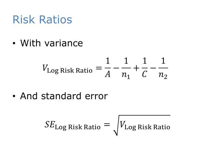 Risk Ratios