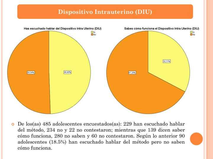 Dispositivo Intrauterino (DIU)