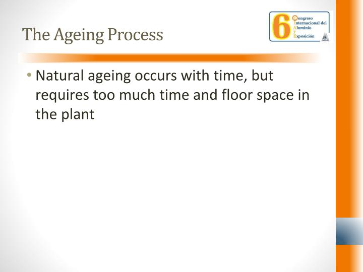 The ageing process1