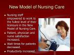 new model of nursing care1