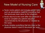 new model of nursing care2