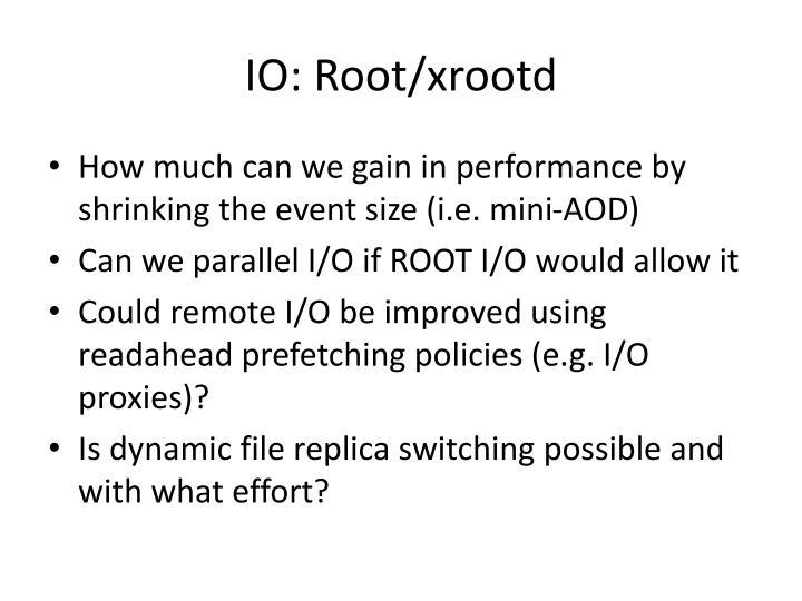 IO: Root/