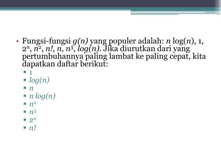 Fungsi-fungsi