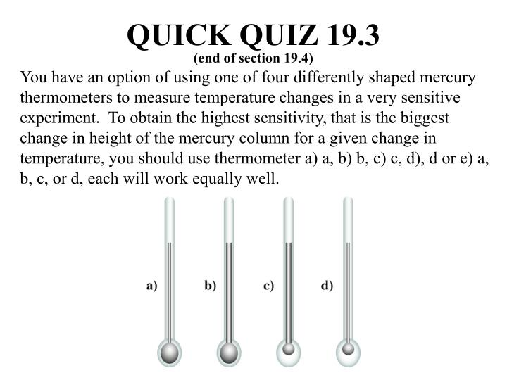 QUICK QUIZ 19.3
