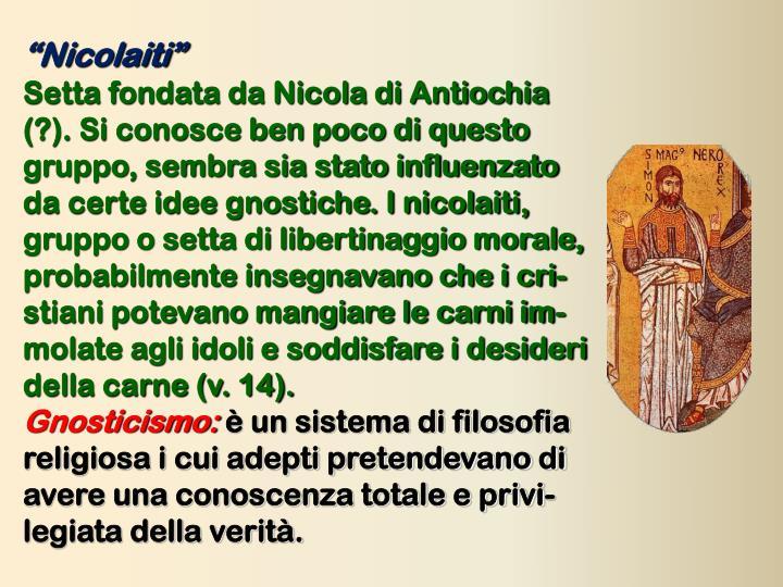 """""""Nicolaiti"""""""
