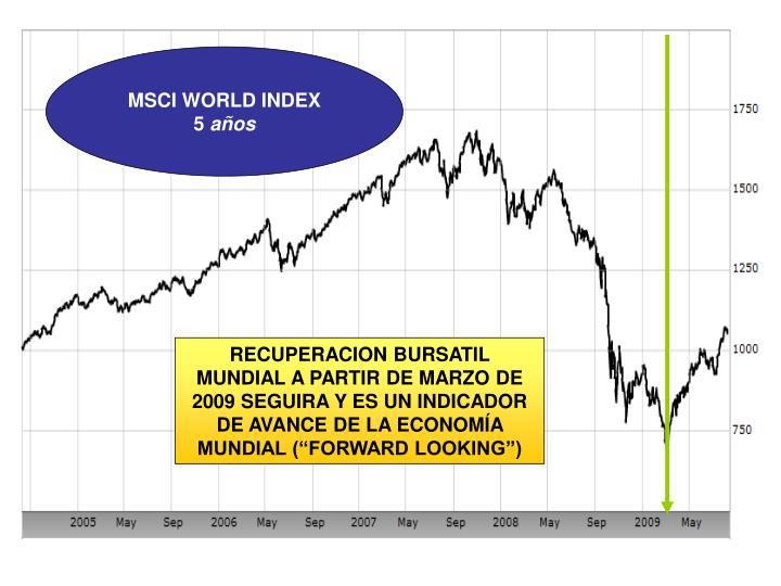 MSCI WORLD INDEX