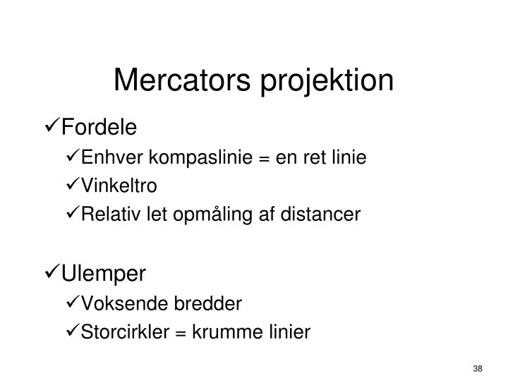 Mercators projektion