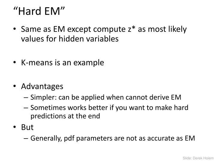 """""""Hard EM"""""""