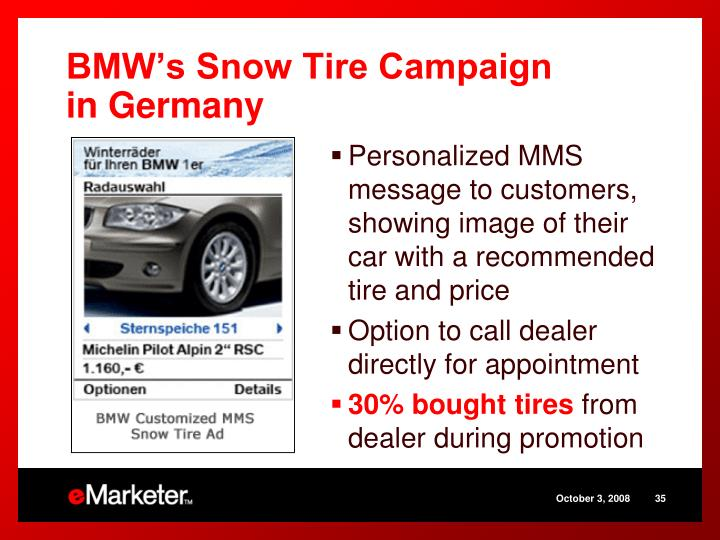BMW's Snow Tire Campaign