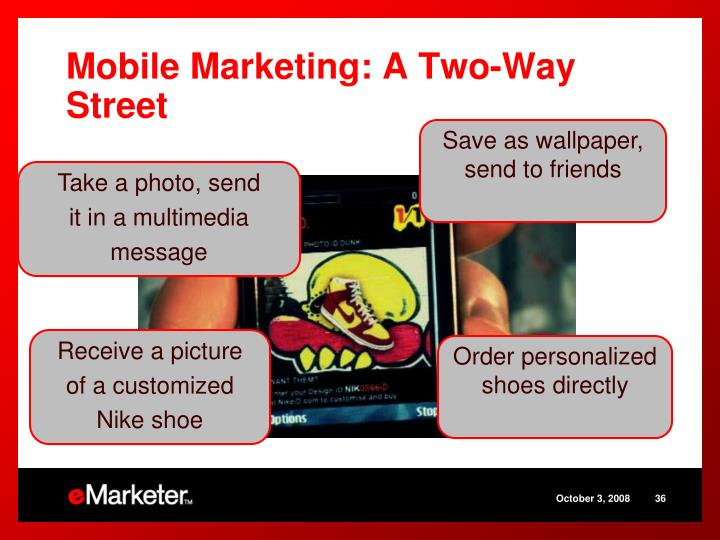 Mobile Marketing: A Two-Way Street