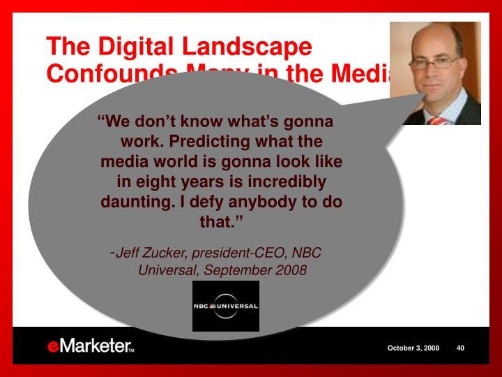 The Digital Landscape