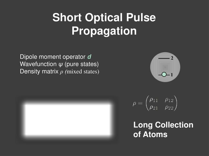 Dipole moment operator