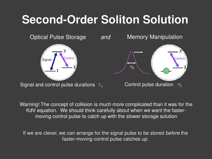 Optical Pulse Storage