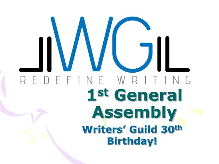 1 st general assembly