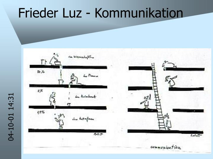 Frieder Luz - Kommunikation