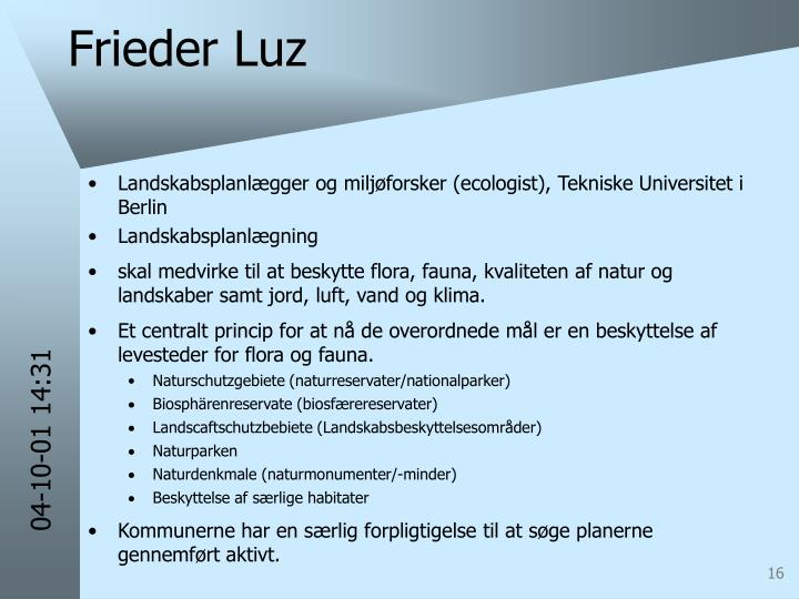 Frieder Luz