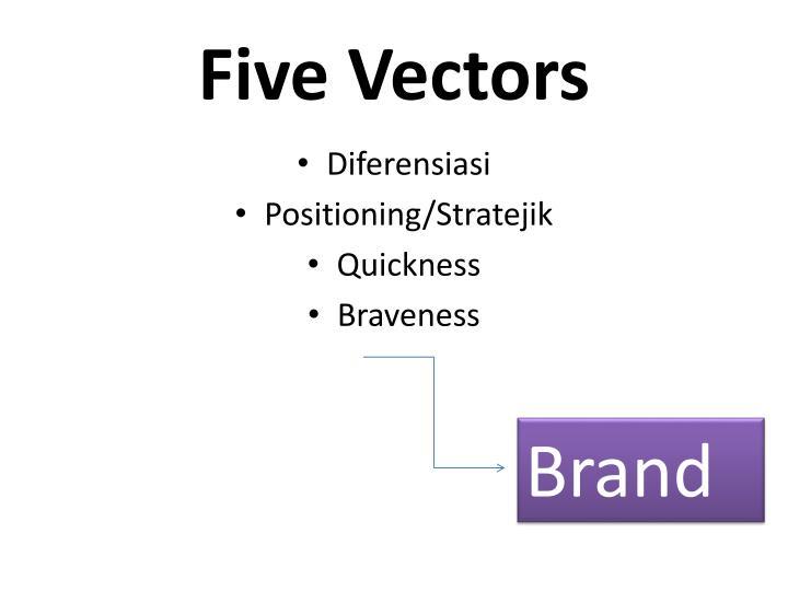 Five Vectors