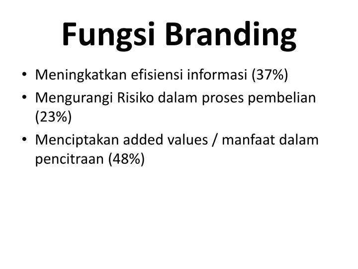 Fungsi Branding