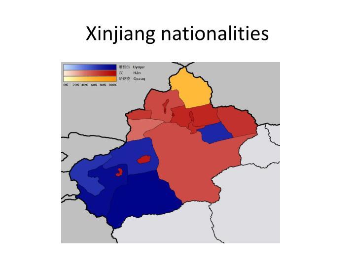 Xinjiang nationalities