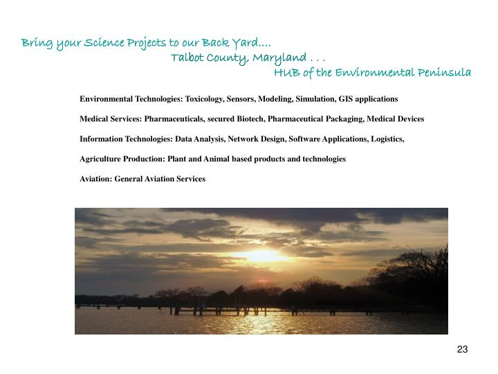 Environmental Technologies: Toxicology, Sensors, Modeling, Simulation, GIS applications