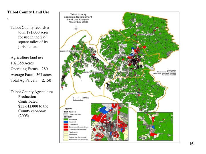 Talbot County Land Use