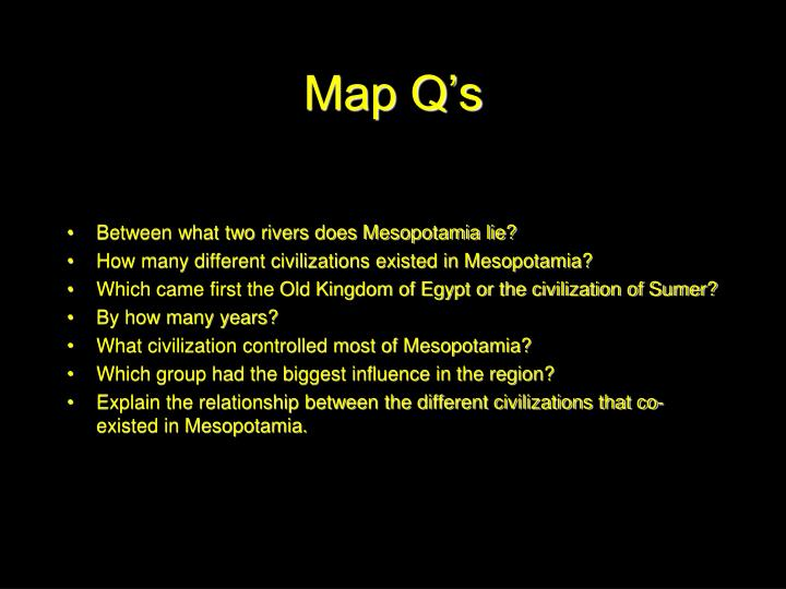 Map Q's