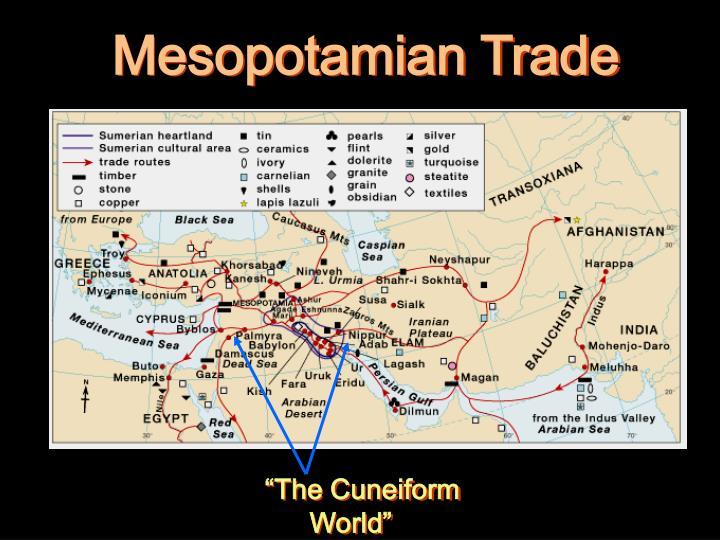 Mesopotamian Trade
