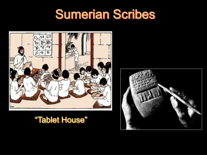 Sumerian Scribes