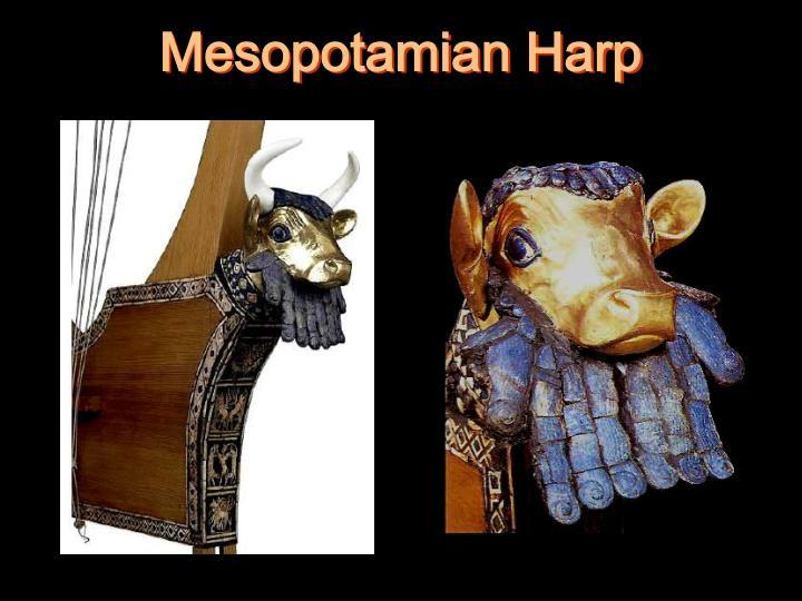 Mesopotamian Harp
