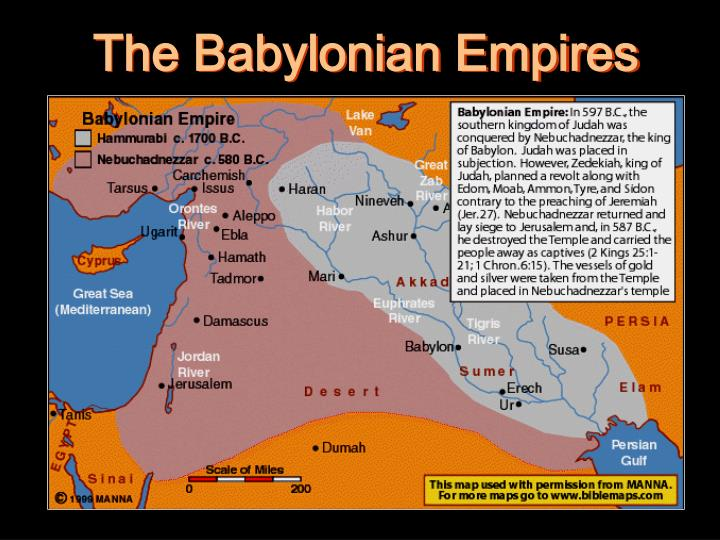 The Babylonian Empires