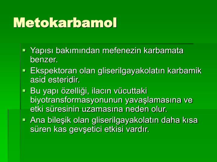 Metokarbamol