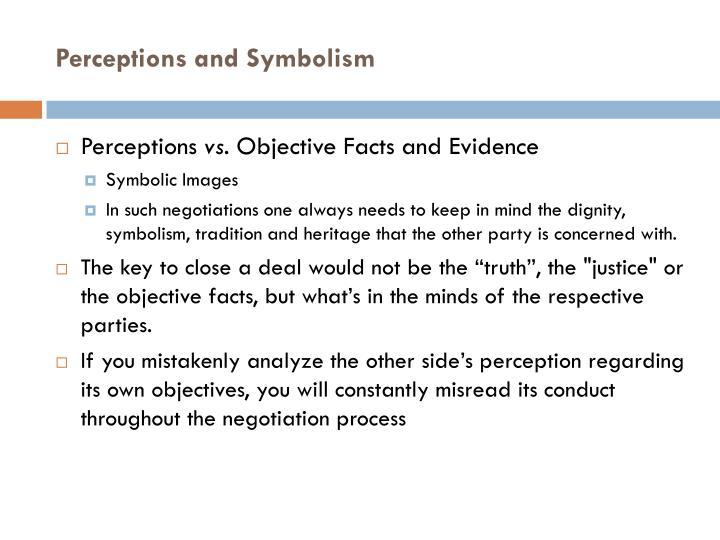 Perceptions and Symbolism