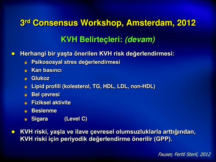 KVH Belirteçleri: