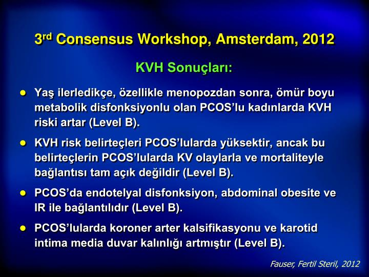 KVH Sonuçları: