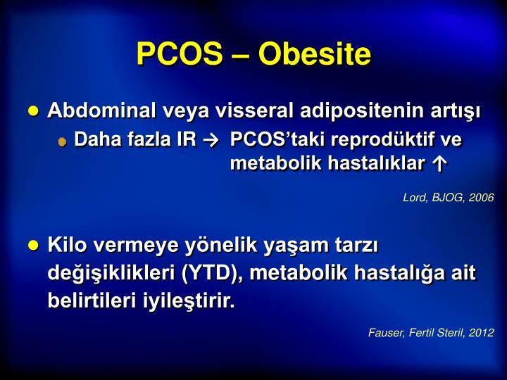 PCOS – Obesite