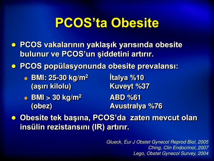 PCOS'ta Obesite
