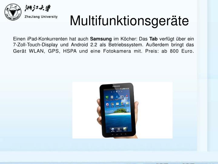 Multifunktionsgeräte