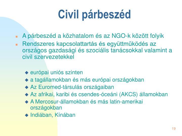Civil párbeszéd