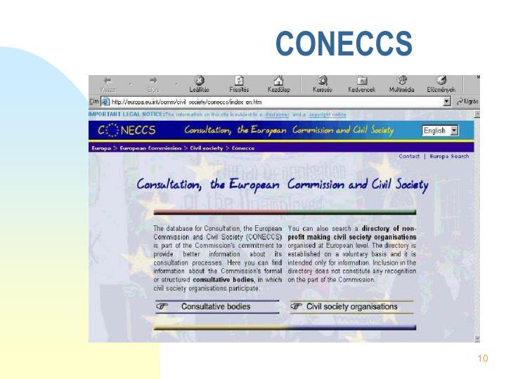 CONECCS